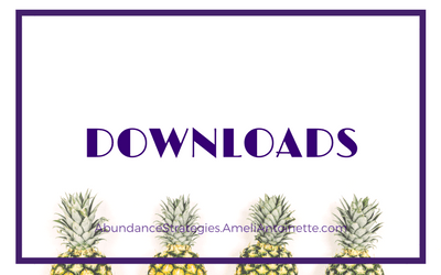 Abundance Strategies - Downloads - Ameli Antoinette